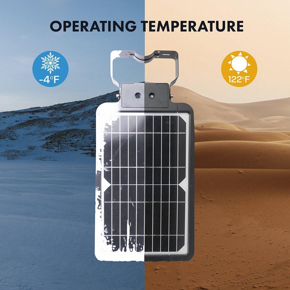 15w Solarstraßenlaterne mit Solarpanel
