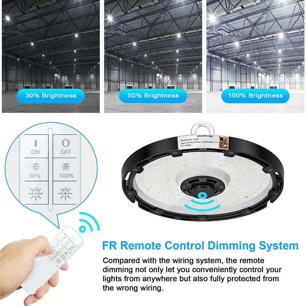 Controlador de atenuación LED Luz de bahía alta