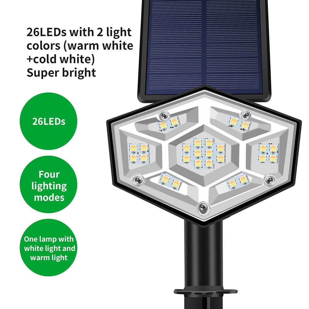 Solar LED Spotlicht