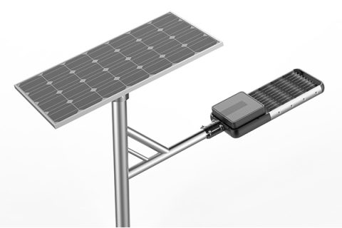 solární pouliční lampa 80w