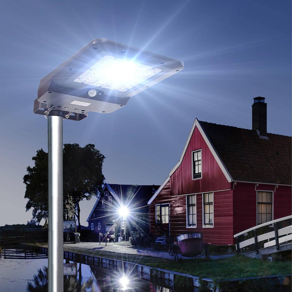 Solar-Straßenlaterne für die Gartenbeleuchtung