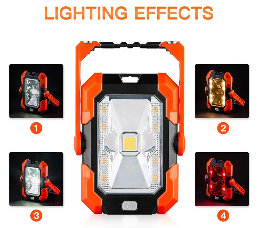 Lampe de travail solaire LED beien