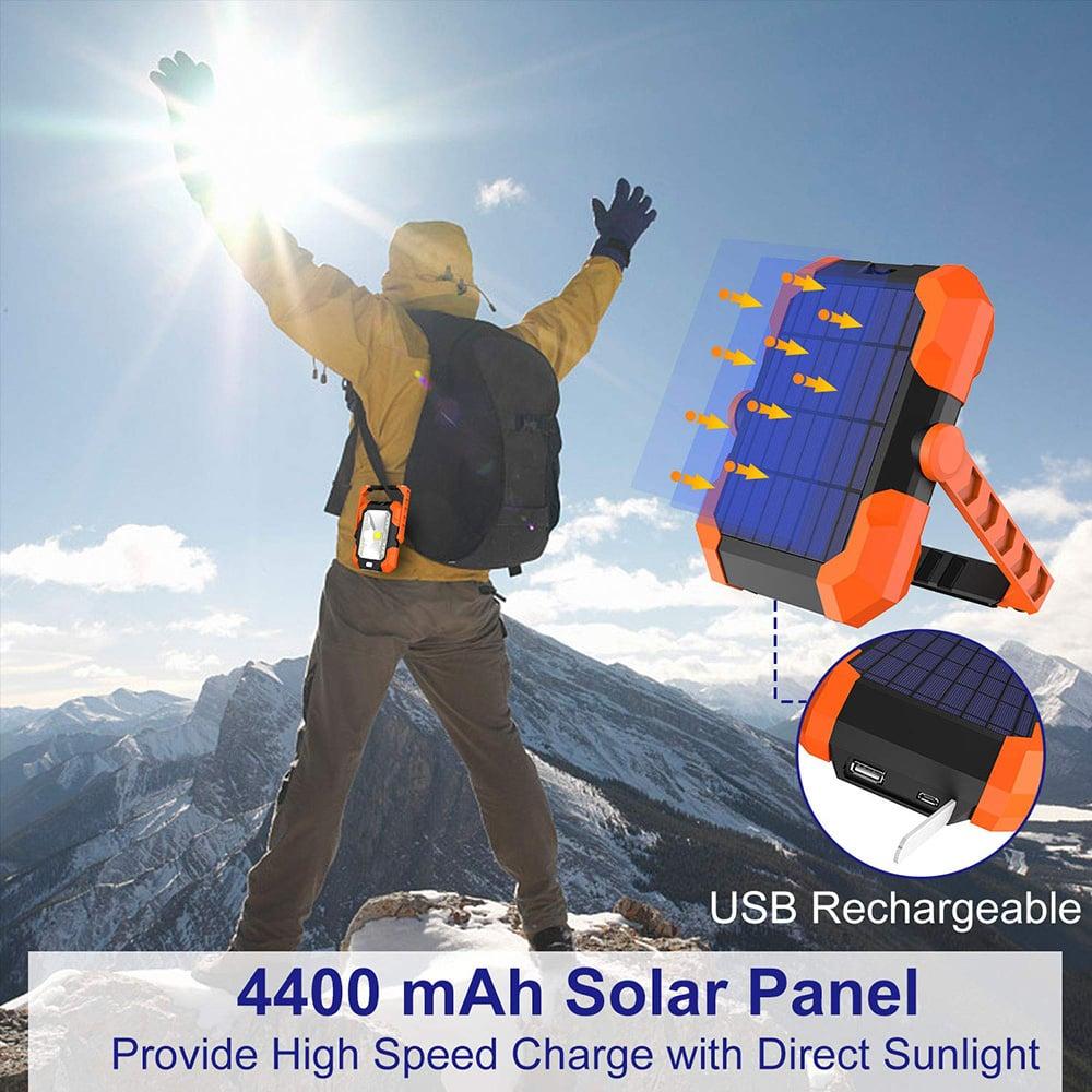 lampe de travail solaire rechargeable