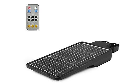 télécommande solaire LED réverbère