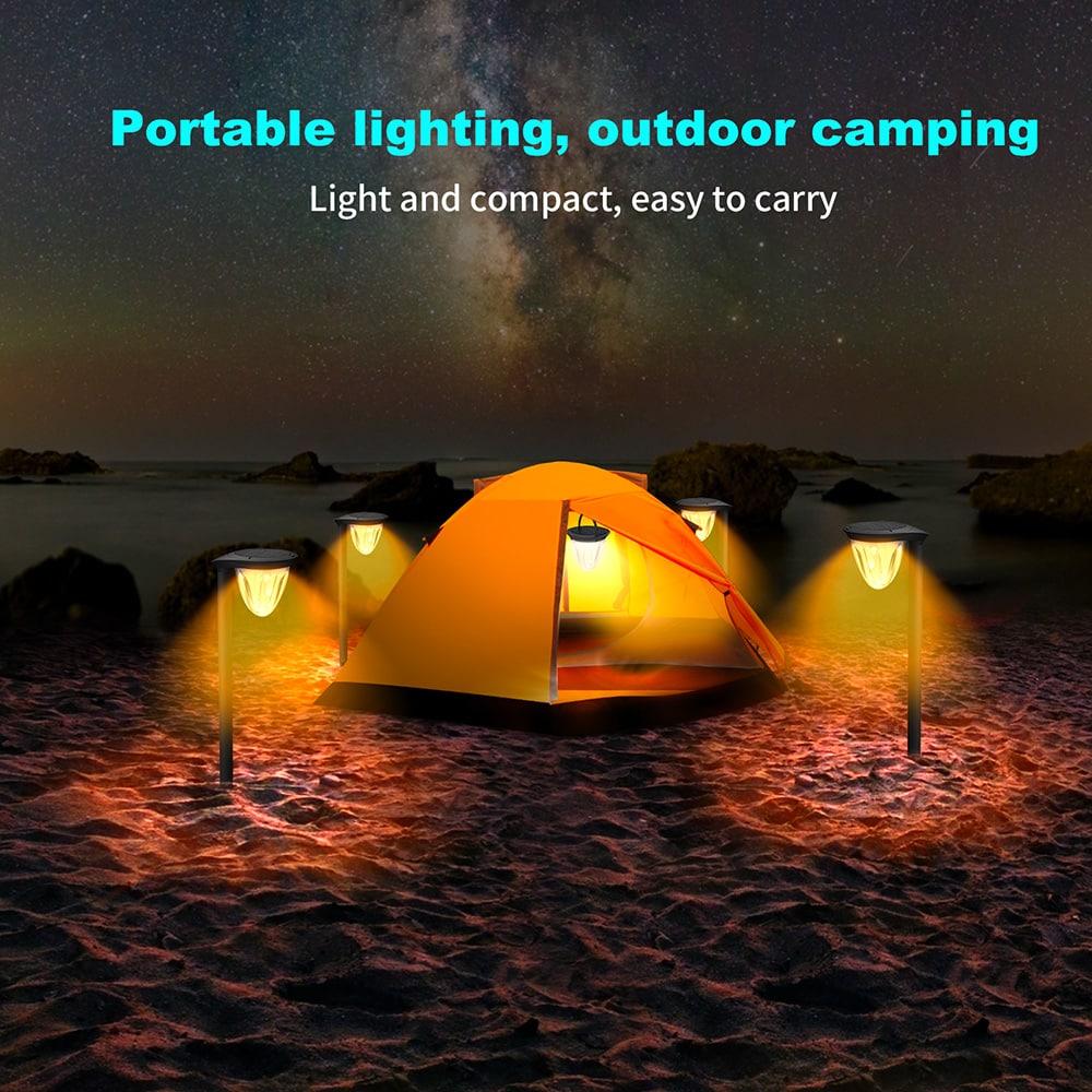 lampes solaires de camping