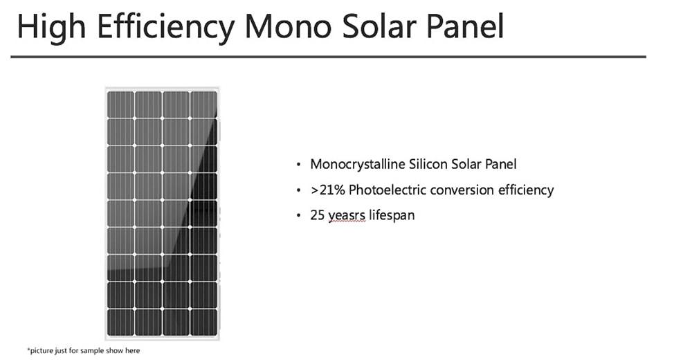solární panel pro pouliční osvětlení