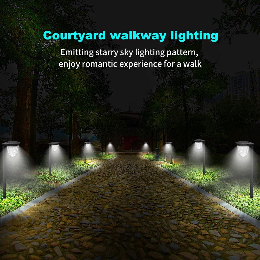 lumières de voie solaire