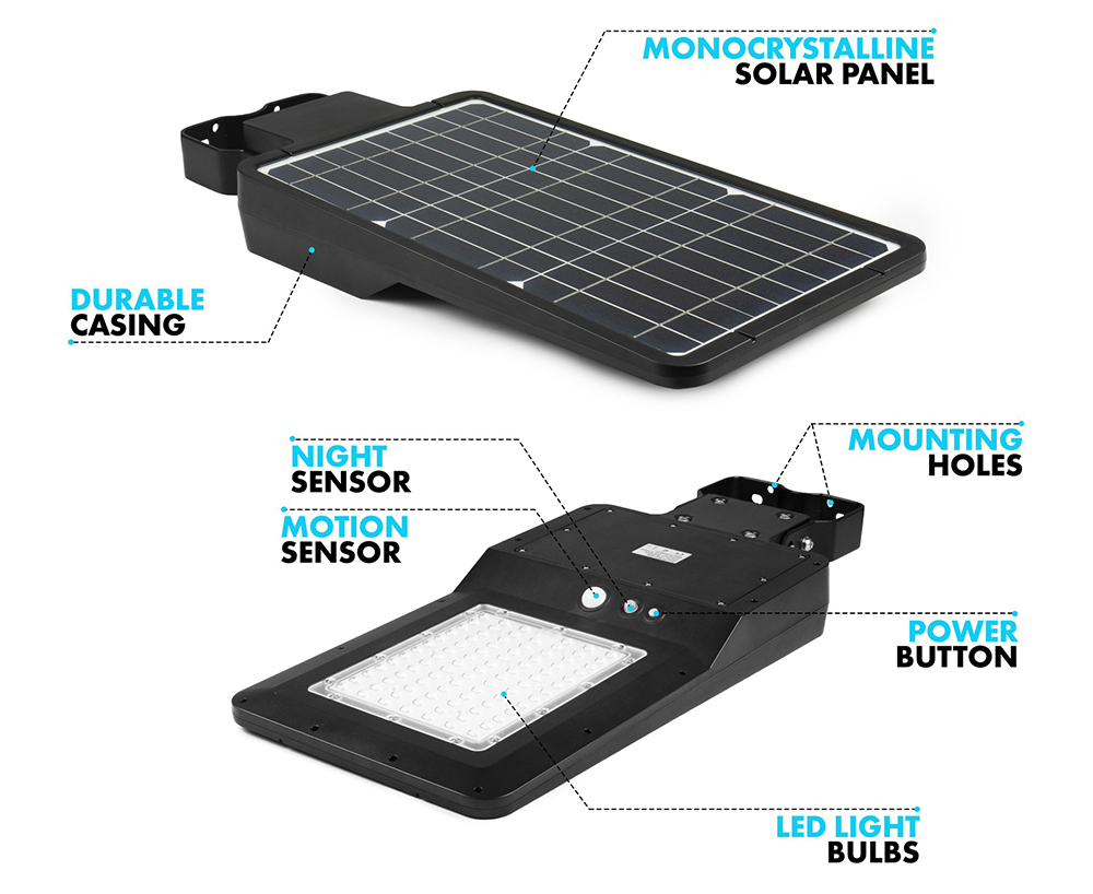 Solarstraßenlaterne 8w Funktion