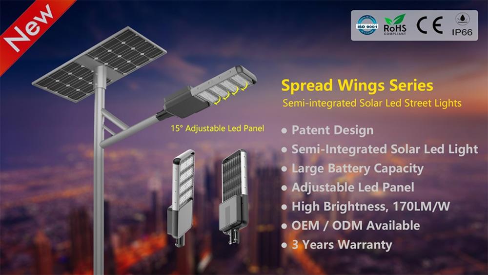 solární pouliční svítidlo