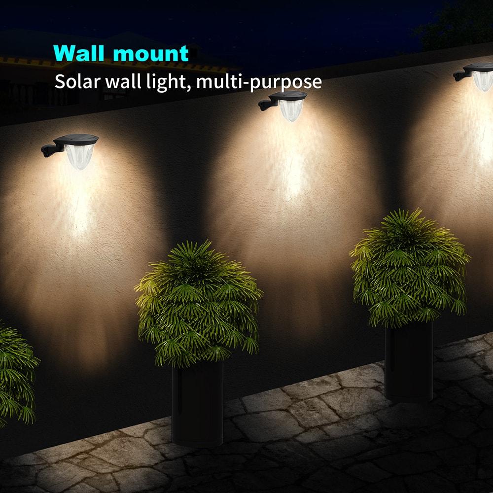 éclairage mural solaire