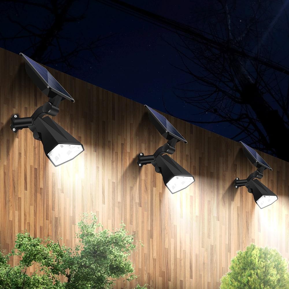 an der Wand montierte Solarstrahler