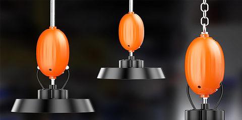 Pilotes de secours d'urgence pour éclairage LED High Bay