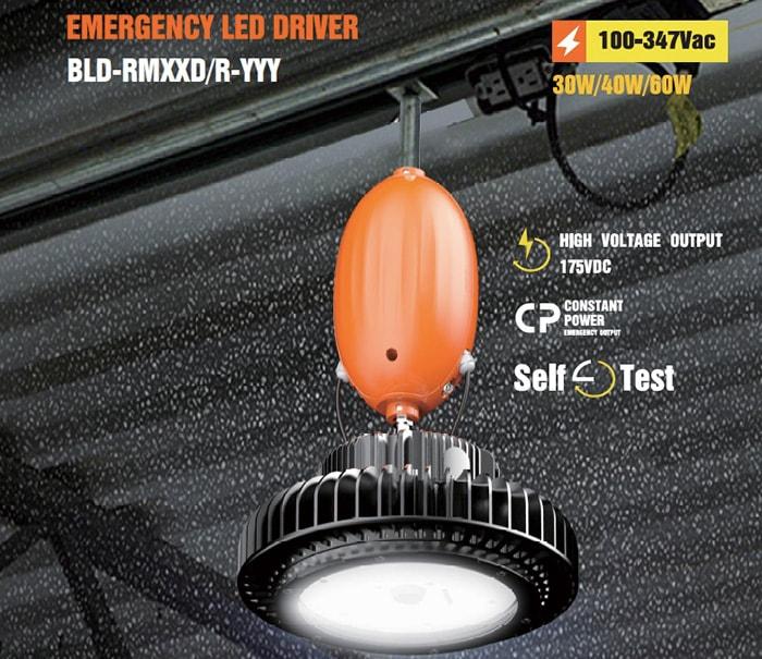 emergency high bay light