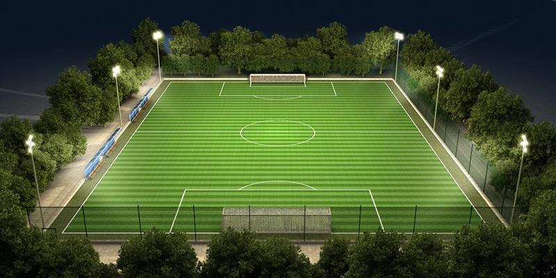 Éclairage de football à LED