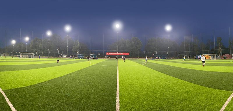 Éclairage LED pour stade de football