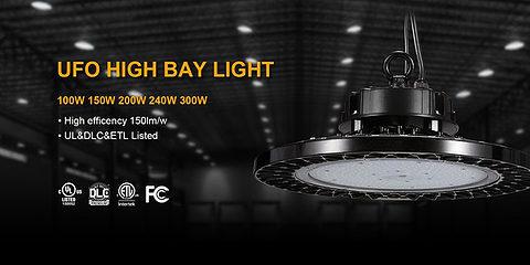 Lumière LED haute baie 150W