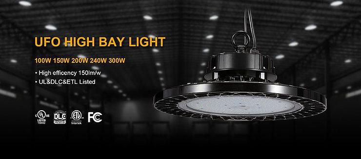 150W LED kõrge lahe valgus